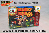 Donkey Kong 64 Box Only Nintendo 64 Game Off the Charts