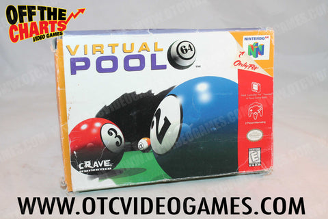 Championship Pool Box Only - Off the Charts Video Games