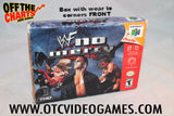 WWF No Mercy Box Only Nintendo 64 Box Off the Charts