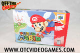 Super Mario 64 Box Only Nintendo 64 Box Off the Charts