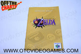 The Legend of Zelda Majora's Mask Manual Nintendo 64 Manual Off the Charts