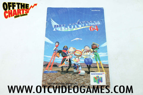Pilotwings 64 Manual - Off the Charts Video Games