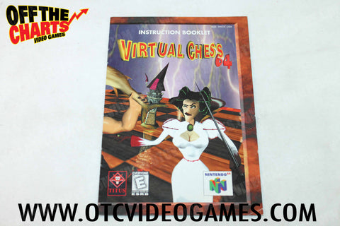 Virtual Chess 64 Manual - Off the Charts Video Games