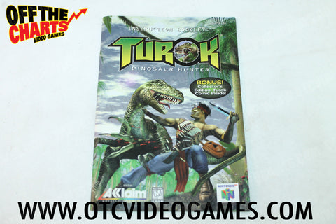 Turok the Dinosaur Hunter Manual - Off the Charts Video Games