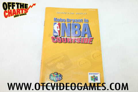 Kobe Bryant in NBA Courtside Manual - Off the Charts Video Games