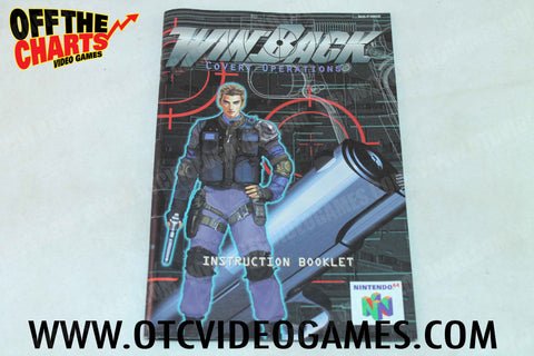 Winback Covert Operations Manual - Off the Charts Video Games