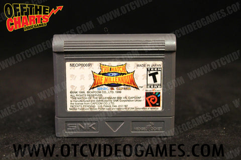 SNK Vs. Capcom The Match of the Millennium Neo Geo Pocket Color Game Off the Charts