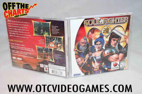 Soul Fighter Sega Dreamcast Game Off the Charts