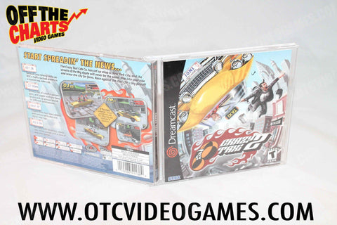 Crazy Taxi 2 Sega Dreamcast Game Off the Charts