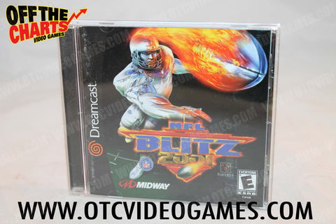 NFL Blitz 2001 - Off the Charts Video Games
