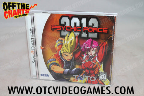 Psychic Force 2012 Sega Dreamcast Game Off the Charts