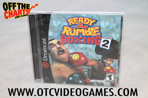 Ready to Rumble Round 2 - Off the Charts Video Games