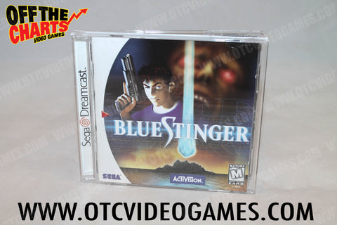 Blue Stinger - Off the Charts Video Games