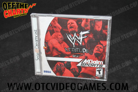 WWF Attitude - Off the Charts Video Games