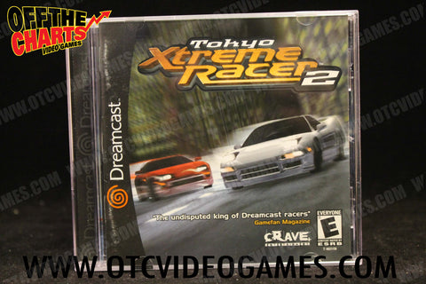 Tokyo Xtreme Racer 2 Sega Dreamcast Game Off the Charts