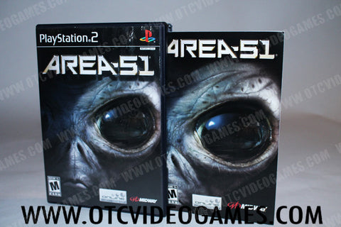 Area 51 Playstation 2 Game Off the Charts