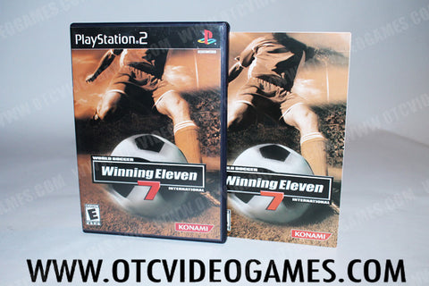 Winning Eleven 7 Playstation 2 Game Off the Charts