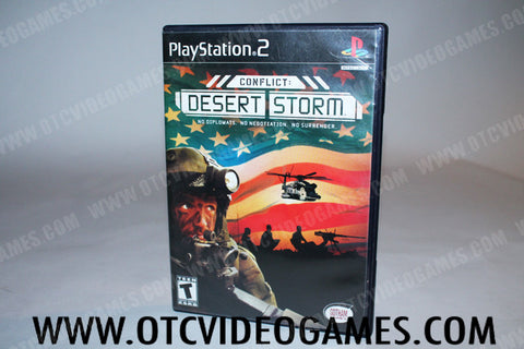 Conflict: Desert Storm Playstation 2 Game Off the Charts