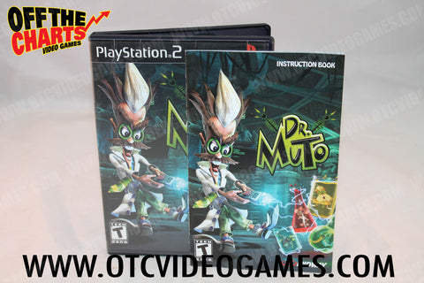 Dr. Muto Playstation 2 Game Off the Charts