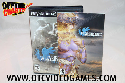 Valkyrie Profile 2: Silmeria Playstation 2 Game Off the Charts