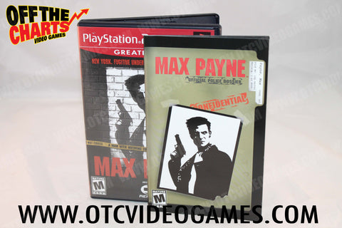 Max Payne - Off the Charts Video Games