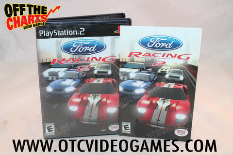 Ford Racing 2 Playstation 2 Game Off the Charts