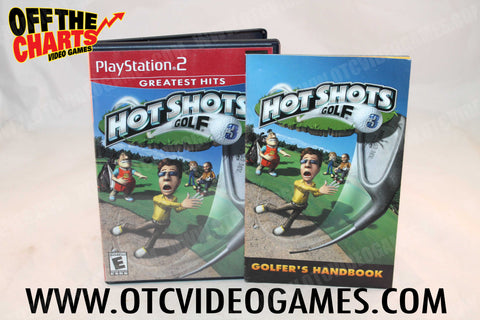 Hot Shots Golf 3 - Off the Charts Video Games