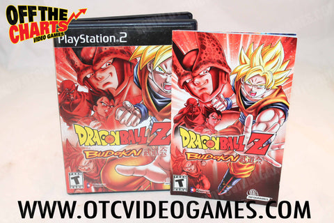 Dragon Ball Z Budokai Playstation 2 Game Off the Charts