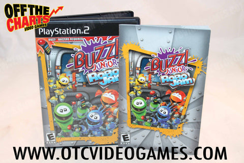 Buzz! Junior: Robo Jam Playstation 2 Game Off the Charts