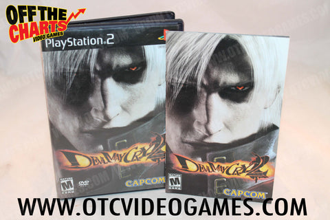 Devil May Cry 2 Playstation 2 Game Off the Charts
