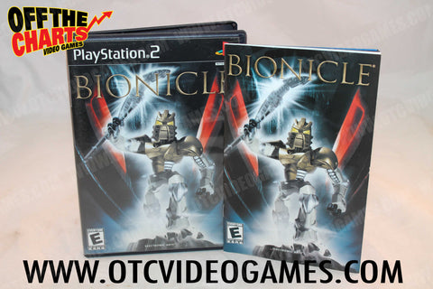 Bionicle Playstation 2 Game Off the Charts
