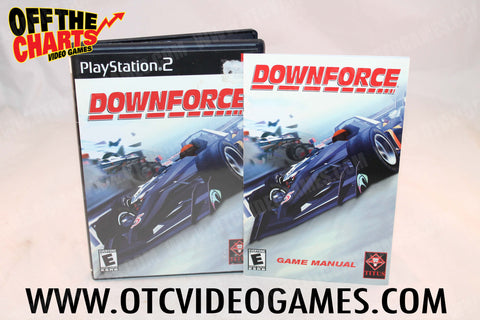 Downforce Playstation 2 Game Off the Charts