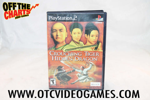 Crouching Tiger Hidden Dragon Playstation 2 Game Off the Charts