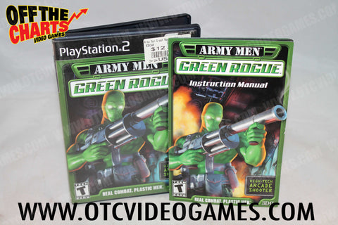 Army Men Green Rogue - Off the Charts Video Games