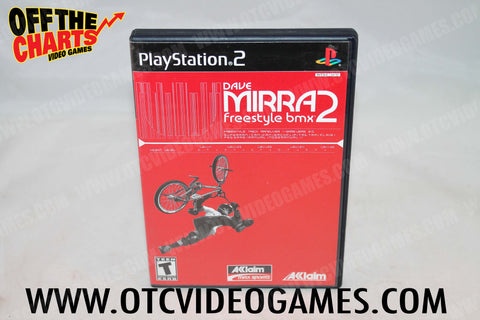 Dave Mirra Freestyle BMX 2 Playstation 2 Game Off the Charts