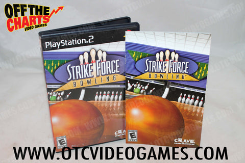 Strike Force Bowling Playstation 2 Game Off the Charts