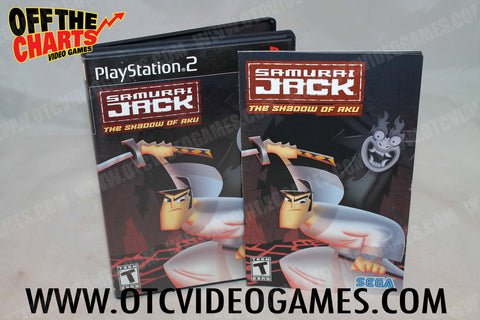 Samurai Jack Playstation 2 Game Off the Charts