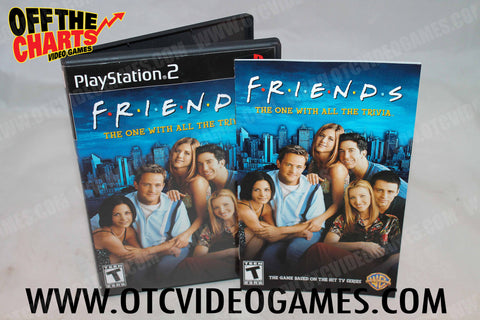 Friends The One with All the Trivia - Off the Charts Video Games