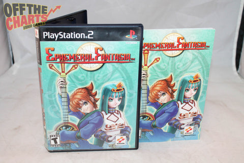 Ephemeral Fanatasia Playstation 2 Game Off the Charts