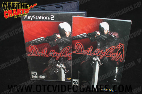 Devil May Cry Playstation 2 Game Off the Charts