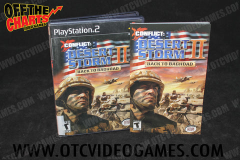 Conflict Desert Storm II: Back To Baghdad Playstation 2 Game Off the Charts