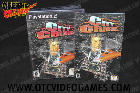 City Crisis Playstation 2 Game Off the Charts