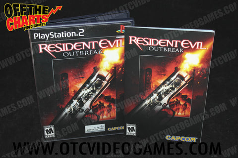 Resident Evil: Outbreak - Off the Charts Video Games