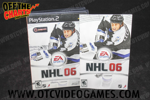NHL '06 - Off the Charts Video Games