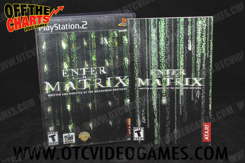 Enter the Matrix Playstation 2 Game Off the Charts