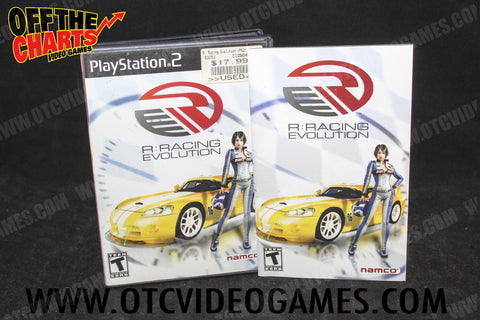 R: Racing Evolution Playstation 2 Game Off the Charts