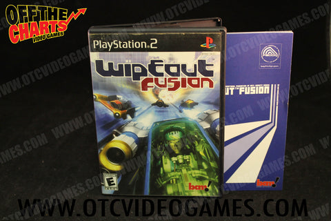Wipeout Fusion Playstation 2 Game Off the Charts
