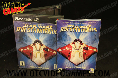 Star Wars Jedi Starfighter - Off the Charts Video Games
