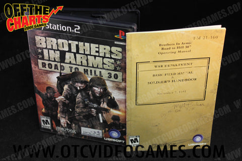 Brothers in Arms Road to Hill 30 Playstation 2 Game Off the Charts