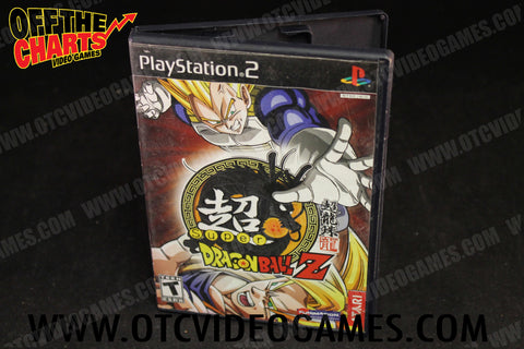 Super Dragon Ball Z Playstation 2 Game Off the Charts